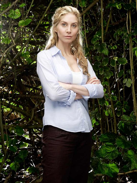 Elizabeth Mitchell stars as Juliet in Lost.