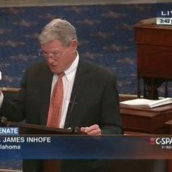 Republican Brings A Snowball To The Senate Floor To Prove Climate Change Is A 'Hoax'