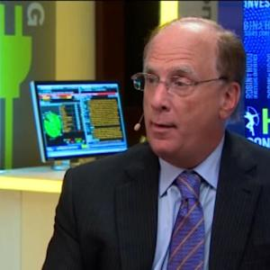 Larry Fink: Stock Market Correction Weeded Out Excesses