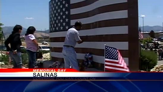 Fallen soldiers remembered across the Central Coast