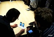 The media gets a first look at the iPhone 5