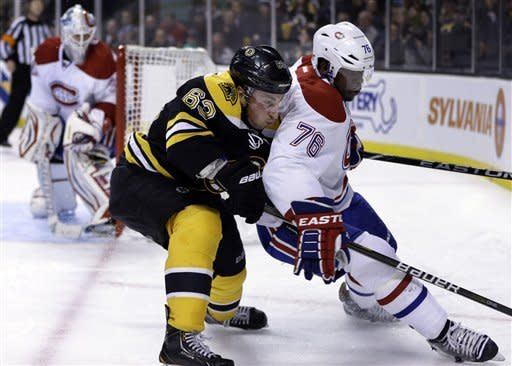 Canadiens rally for 4-3 win over Bruins