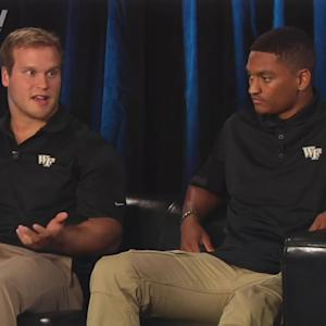 Wake Forest's Jordan Garside & Kevin Johnson Preview 2014 Season | #ACCkickoff