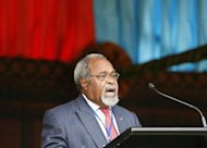 Veteran Papua New Guinean leader Sir Michael Somare on Thursday hit out at rival Peter O&#39;Neill, saying he had made the impoverished country &quot;the laughing stock of the Pacific and the Commonwealth&quot;