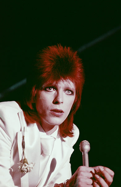 David Bowie as Ziggy Stardust in 1973
