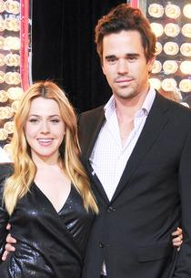 Majandra Delfino, David Walton | Photo Credits: Gregg DeGuire/FilmMagic/Getty Images