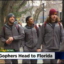 Gophers Head To Florida For Citrus Bowl