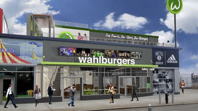 Hundreds of Wahlburgers Fans Line Up for Jobs at Coney Island Outpost