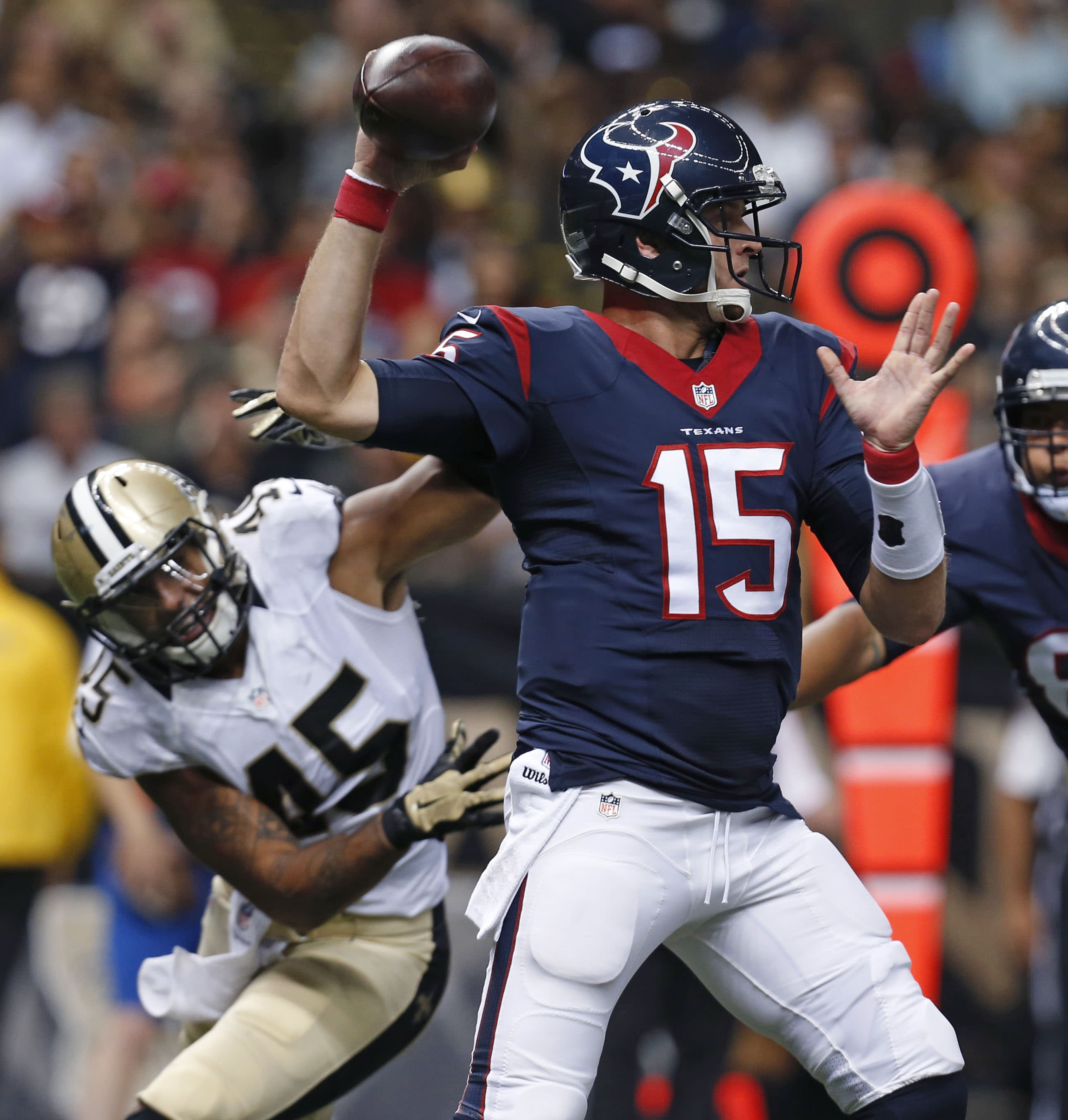 Texans take preseason win over Saints 27-13