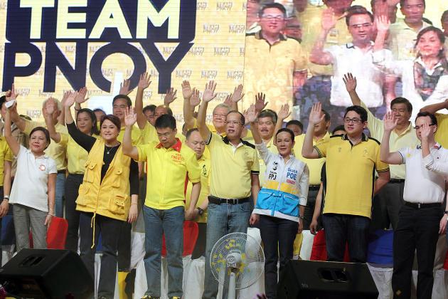 Aquino leads Team PNoy