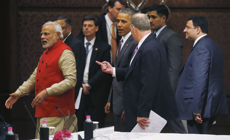 Obama announces $4 billion in India investment and lending deals