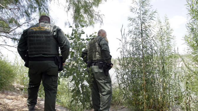 U.S. Customs and Border Patrol agents patrols along the Rio Grande near  Wednesday, June 8, 2011 in Penitas, Texas.   Between October 2009 and March 2011, U.S. Border Patrol detained at least 2,600 illegal immigrants from India, a dramatic spike considering apprehensions of Indian border-jumpers had historically hovered between 150 and 300 per year.   (AP Photo/Eric Gay)