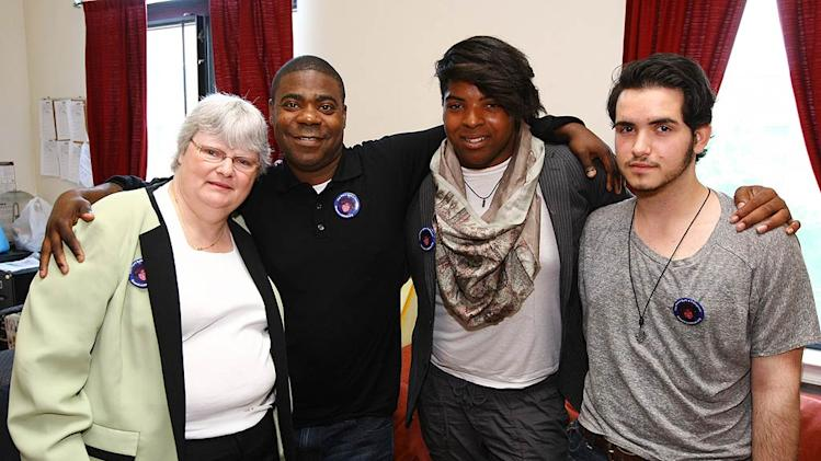 Tracy Morgan GLAAD Meet Greet