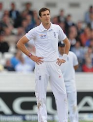 Steven Finn looks likely to lose his fitness race for the first Test