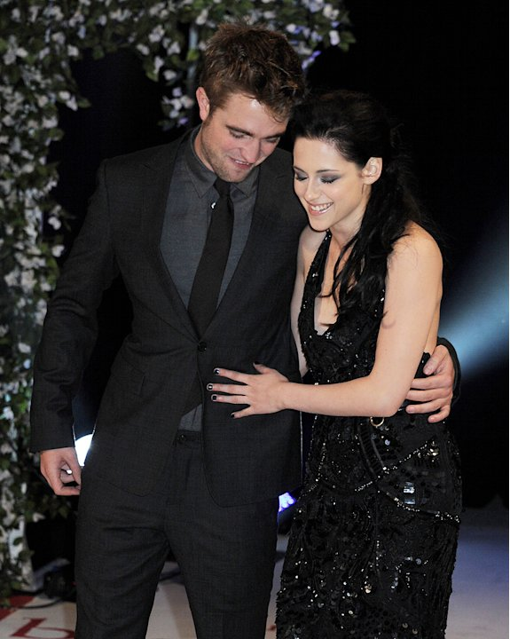The Twilight Saga Breaking Dawn Part 1 2011 UK Premiere Robert pattinson Kristen Stewart