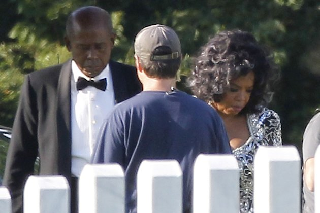 Forest Whitaker e Oprah Winfrey sul set del film The Butler