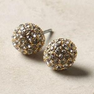 Pavé Post Earrings