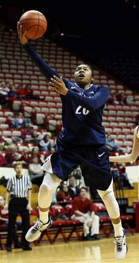 No. 8 Penn State women rout Indiana 76-54