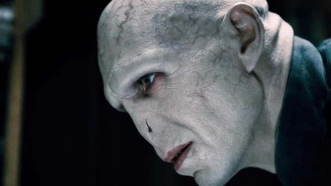"""RALPH FIENNES as Lord Voldemort in Warner Bros. Pictures' fantasy adventure """"HARRY POTTER AND THE DEATHLY HALLOWS - PART 1,"""" a Warner Bros. Pictures release."""