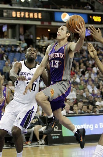 Suns upend Kings 109-100