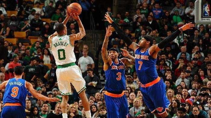 Celtics beat Knicks 2nd time in a week, win 90-86