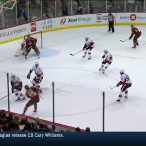 Andrew Hammond Save on Jonas Brodin (11:38/1st)