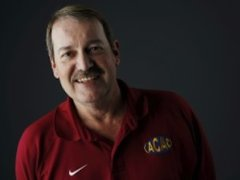 Former Douglass coach Phil Ingersoll, who filed an age discrimination suit — The Oklahoman