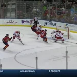 Cam Ward Save on Sean Bergenheim (15:59/2nd)