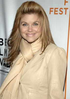 Tiffani Thiessen Layer Cake premiere - Tribeca Film Festival April 22, 2005 - New York, NY