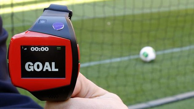 Wristwatch used as part of Hawk-Eye goal-line technology (Reuters)