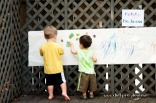There are tons of fun and educational things to do outside with your toddler!