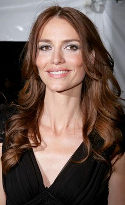 Saffron Burrows at the New York premiere of Sony Pictures' Reign Over Me