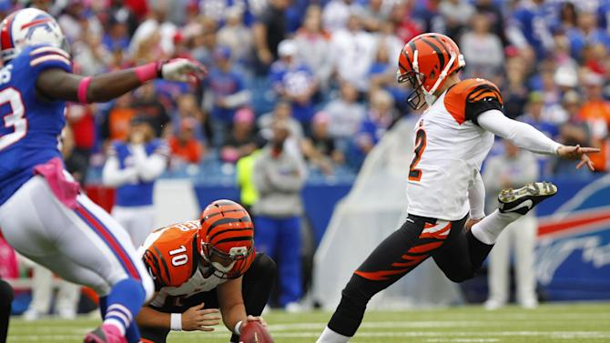 Dalton, Nugent deliver in Bengals' win over Bills