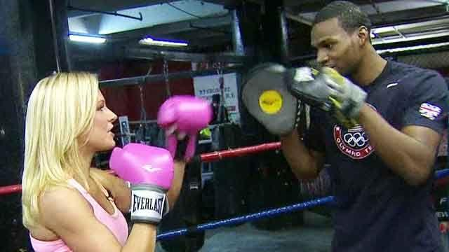 Boxing tips from 2012 Olympian Marcus Browne