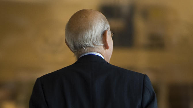 U.S. Supreme Court Justice Stephen Breyer tours the Richard Nixon Presidential Library and Museum Wednesday, Sept. 14, 2011 in Yorba, Calif.  (AP Photo/Orange County Register,  Michael Goulding)  MAGS OUT; LOS ANGELES TIMES OUT