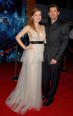 Amy Adams and Patrick Dempsey at the Los Angeles premiere of Walt Disney Pictures' Enchanted