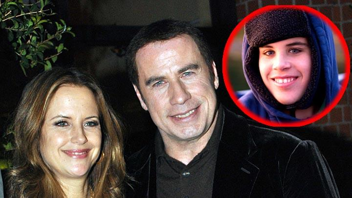 John Travolta, Kelly Preston, Jett Travolta