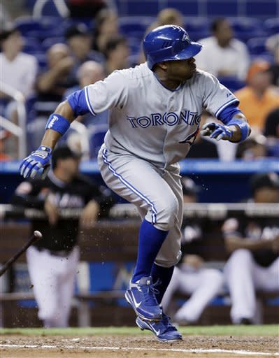 Bautista, Johnson lead Blue Jays past Marlins 12-5