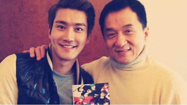 Jackie Chan and Super Junior's …