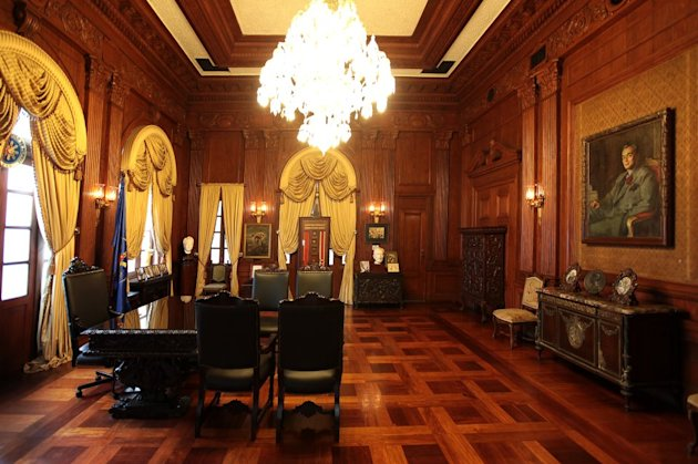 This room was used by President Manuel L. Quezon as his executive office. It was also the first fully airconditioned room in the Philippines. (Photo by Malacanang)