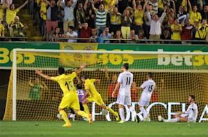 Villarreal 2-2 Real Madrid: Bale and Ronaldo goals canceled out by Submarine strikes