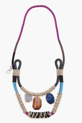 Proenza Schouler rope necklace, $315 [on sale], at Ssense