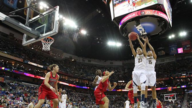 NCAA Womens Basketball: NCAA Tournament-Louisville vs California
