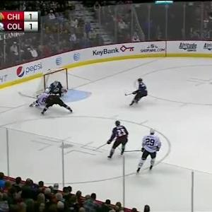 Calvin Pickard Save on Andrew Shaw (12:51/2nd)