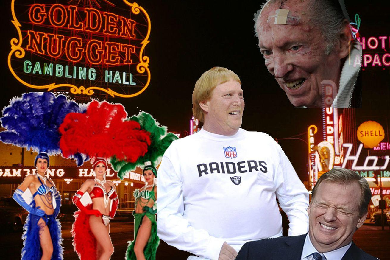 Las Vegas has a new plan to build an NFL stadium, and the Raiders are mad about it