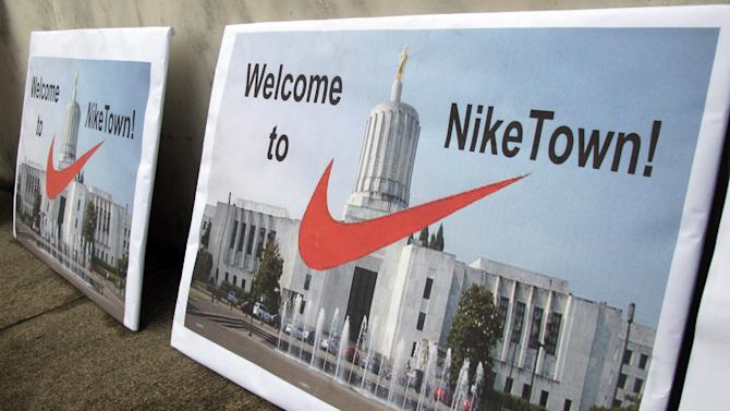 Oregon lawmakers OK tax deal for Nike expansion
