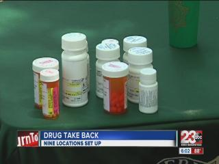 Prescription drug take back