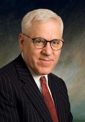 FILE - This undated file photo released by The Carlyle Group shows David M. Rubenstein. Billionaire philanthropist David Rubenstein is making a second $10 million gift in less than six months to the Kennedy Center in Washington to help reach younger and more economically diverse audiences. The gift announced Tuesday makes Rubenstein of Bethesda, Md., the largest single donor in the center's history with donations totaling $23 million. Rubenstein became the center's chairman last year and is co-founder of the Carlyle Group.  (AP Photo/The Carlyle Group, File )  NO SALES