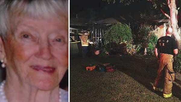 Elderly woman dies after early morning house fire