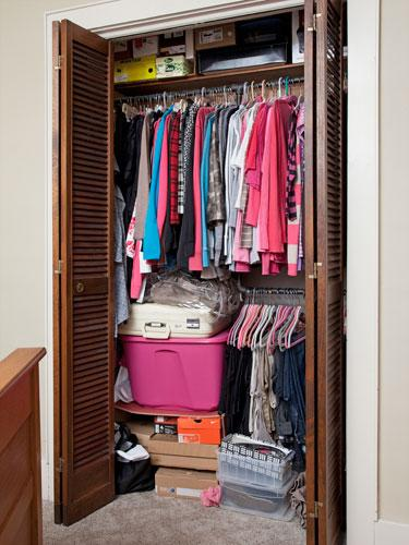 Pam's Clothing Clutter Challenges
